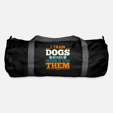 Training Dog trainer dog teacher dog training - Duffle Bag
