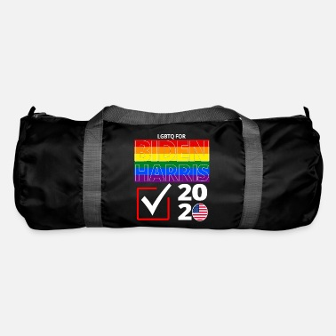 Good Ch Election Political LGBTQ Gay Pride Biden Harris Ch - Duffle Bag
