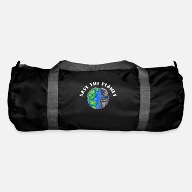 Movement Save The Planet Sustainability Nature Conservation Environment - Duffle Bag