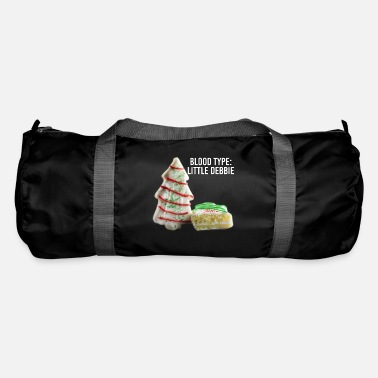 Fitness Blood Type Little Debbie Chocolate Cupcakes Funny - Duffle Bag