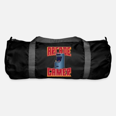 Retro 80's Arcade Gamer, Slot Machines 8-bit - Duffle Bag