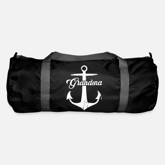Diver Bags & Backpacks - Grandma Nautical - Duffle Bag black