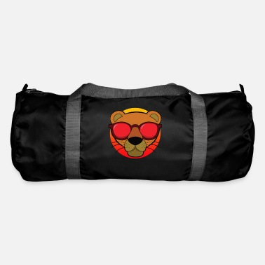 Funny Animals Cool animals Lion funny animal - Duffle Bag
