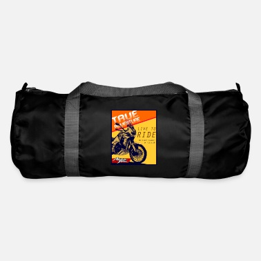Motorcycle Africa Touring Motorbike Passion - Live to Ride - Duffle Bag