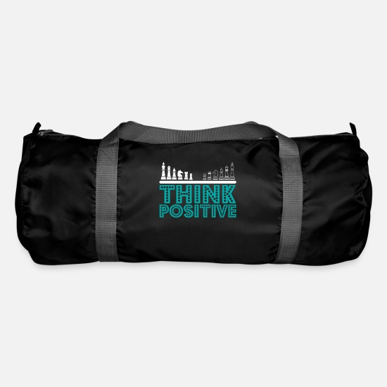 Gift Idea Bags & Backpacks - Think positive - Duffle Bag black