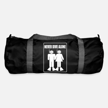 Never Dive Alone - Sac de sport
