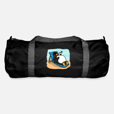 Sun Penguin Sun Bath Penguin Sun Bath - Duffle Bag