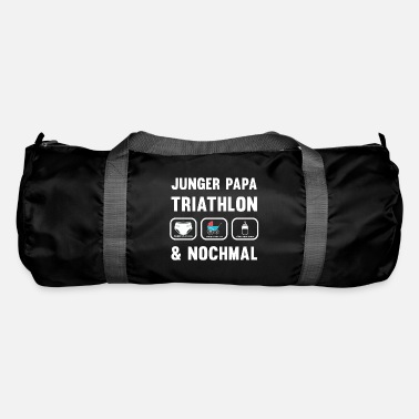 Expectant Fathers Papa Triathlon - for expectant fathers - Duffle Bag
