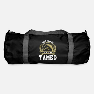 Dressage Horse - Wild hearts can t be tamed - Duffle Bag