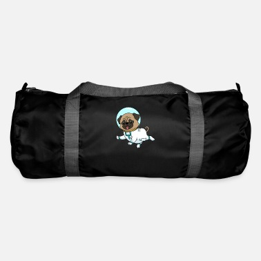 Missile Pug Astronaut Space Spaceflight Gift - Duffle Bag