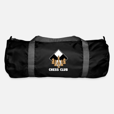 Board Chess Club Strategy Chess Board Game Gift - Duffle Bag