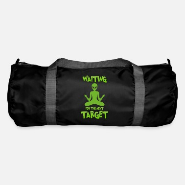 Space Ship Next target - Alien, Space, Planet - Duffle Bag