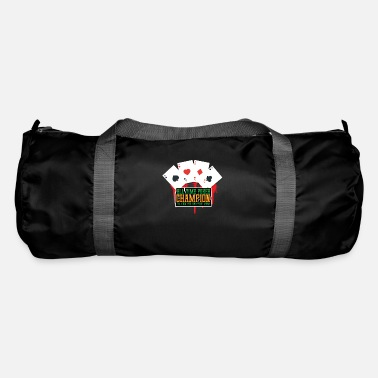 Bluff All time poker champion - Duffle Bag
