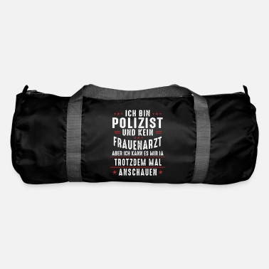Sheriff Police Officer Thin Blue Line Law Enforcement Gift - Duffle Bag