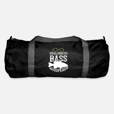Boat Funny Smallmouth Bass Fishing Freshwater Fish Gift - Duffle Bag