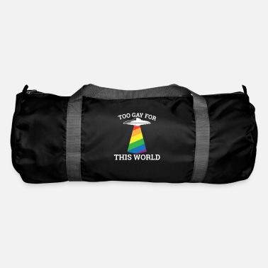 Stag Too gay for this world - gay lesbian - Duffle Bag
