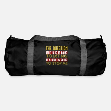 Question La question - Sac de sport