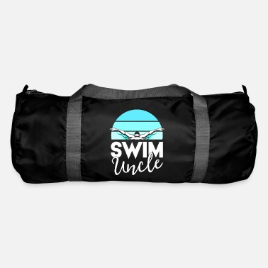 Meeting Swim Team Shirt Uncle School Swimming Meet - Duffle Bag