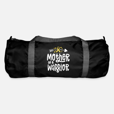 Ribbons Mother Of A Warrior Gift Family Childhood Cancer - Duffle Bag