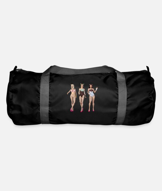New Bags & Backpacks - New Burlesque - Duffle Bag black
