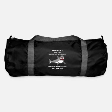 Blue Whale Sharks Will Kill You - Duffle Bag
