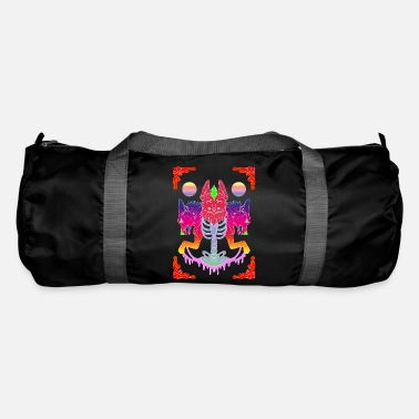 Ghost wolf animal - Duffle Bag