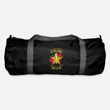 Stage Fright Theater Actress On Stage Asterisk - Duffle Bag