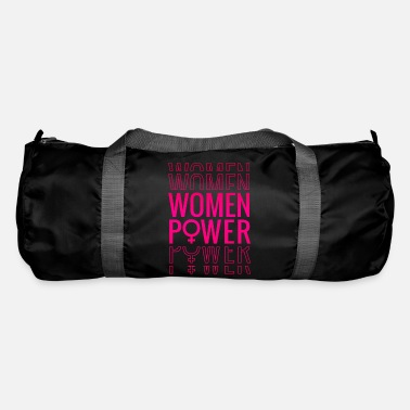 Babe Girl Power Girl Women Power - Sportstaske