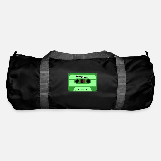 Music Club Bags & Backpacks - cassette - Duffle Bag black