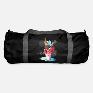 Red nymph cockatoo - Duffle Bag