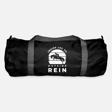 Western Riding Horse gift rider rider gallop horse - Duffle Bag