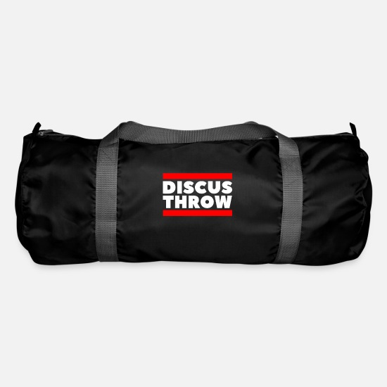 Gift Idea Bags & Backpacks - discus throw - Duffle Bag black