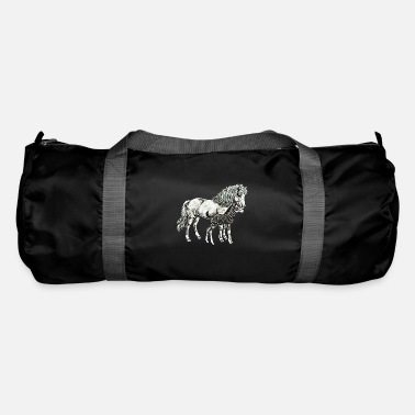 Mare Mare with a foal - Duffle Bag