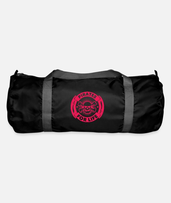 Pirate Bags & Backpacks - Pirate skull forever - Duffle Bag black