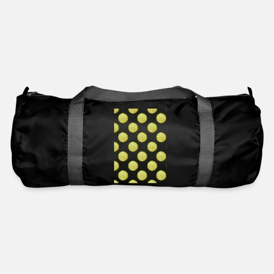 Gift Idea Bags & Backpacks - Lemons Pattern Pattern - Duffle Bag black