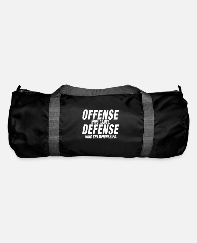 Mma Bags & Backpacks - Offense Defense Championship - Duffle Bag black