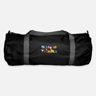 Animal Love I love animals love of animals - Duffle Bag