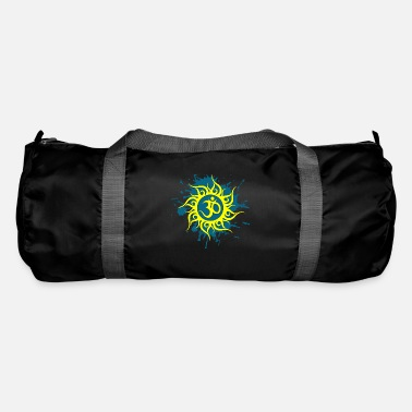 Sun Signs Om sign in yellow sun - Duffle Bag