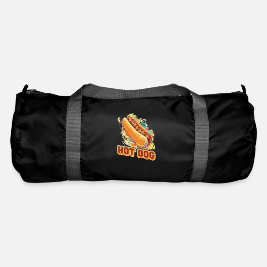 Fast Food Bags & Backpacks - Hot dog - Duffle Bag black