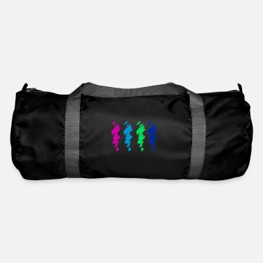Colored exclamation marks in a different way - Duffle Bag