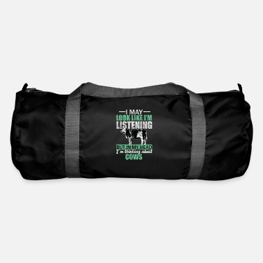 Udder Cow meadow gift - Duffle Bag