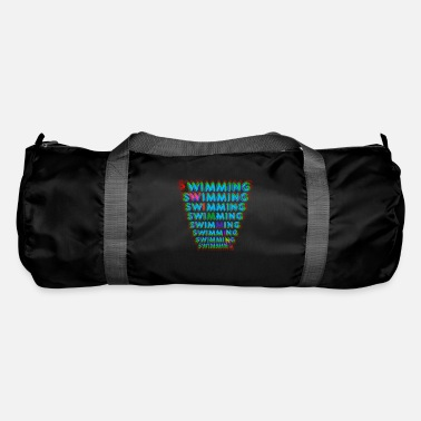 3D Creative Swim Design for the swimmer, swimming - Duffle Bag