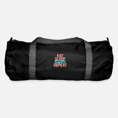 Eat Sleep Swim Repeat, swimming, swimming, swimming lesson - Duffle Bag
