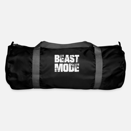 Model Bags & Backpacks - BEAST MODE - Duffle Bag black