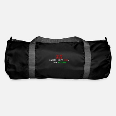 Game Over gamers dont die they respawn - Duffle Bag