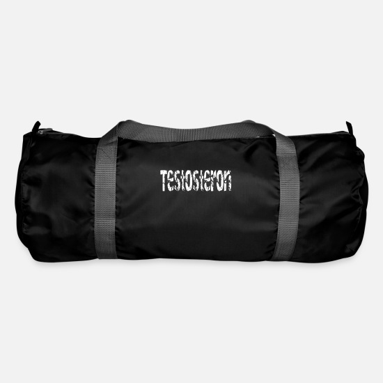 Birthday Bags & Backpacks - TESTOSTERON - Duffle Bag black