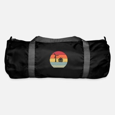 Global Climate Change Print. Retro Style Renewable - Duffle Bag