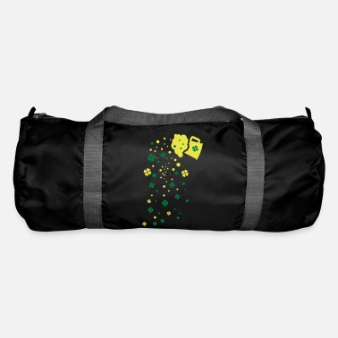 Green Beer green beer shamrocks - Duffle Bag