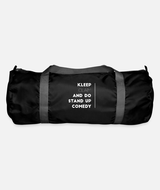 Birthday Bags & Backpacks - Comedy Stage Joke Fun Theater Cabaret Gift 10 - Duffle Bag black
