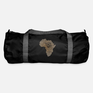 Symbol Africa in the cheetah camouflage - Duffle Bag